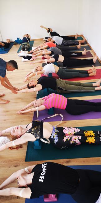 Σεμινάριο Anusara Stretching